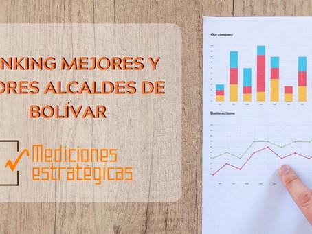RANKING DE MEJORES Y PEORES ALCALDES DE BOLÍVAR