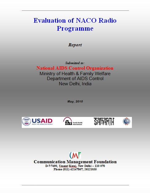Evaluation of NACO Radio Program