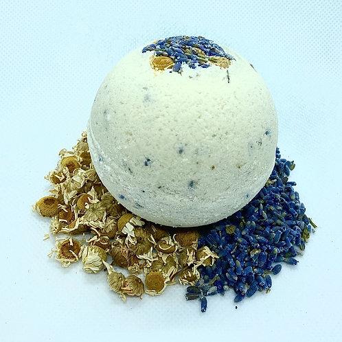 Lavender & Chamomile CBD Bath Bomb