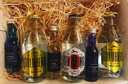 Goldberg Tonic/Illusionist Gin/Granit Gin/Josef Blue Gin