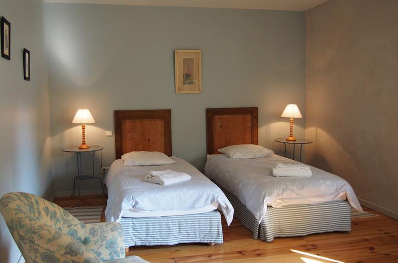 Chambre bleue, l'Orangerie