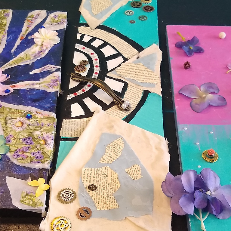 Summer Camp-Mixed Media -Afternoon Session