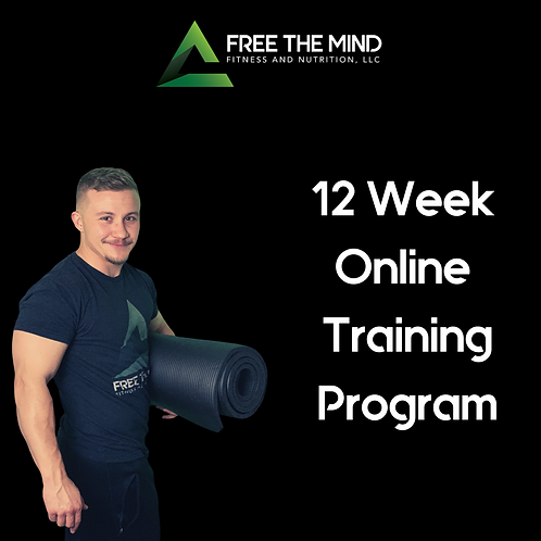 12 Week Online Training Program - Shae
