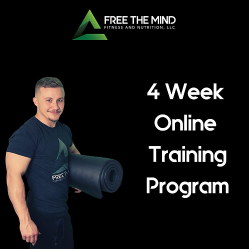 4 Week Online Training Program - Shae
