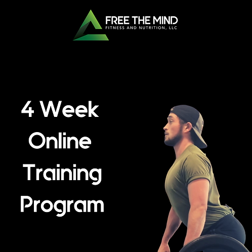 4 Week Online Training Program - Morgan