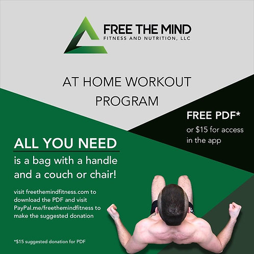 PDF Home Workout Program