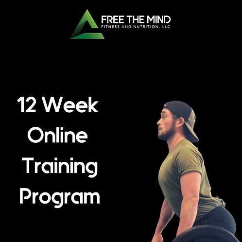 12 Week Online Training Program - Morgan