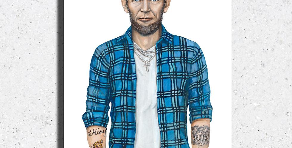 Lumberjack Abe Print