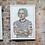 Thumbnail: Inked Einstein Print