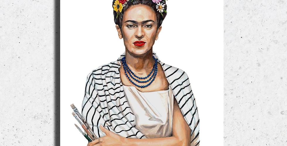 Frida in Stripes Print