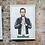 Thumbnail: Prayer Hands Abe Print