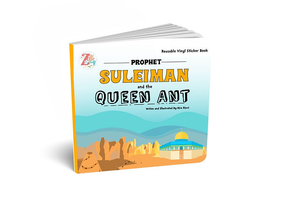 Prophet Suleiman (AS) and the Queen Ant: Reusable Vinyl Stickers