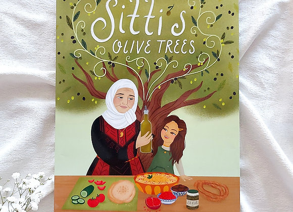 Sitti's Oilve Trees By Ndaa Hassan