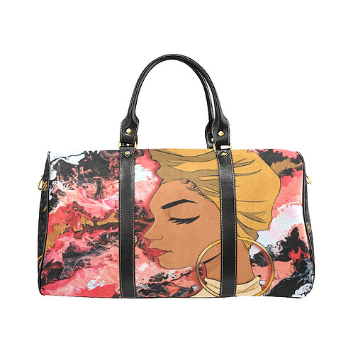 Wrapped In Truth Travel Bag (Gold)