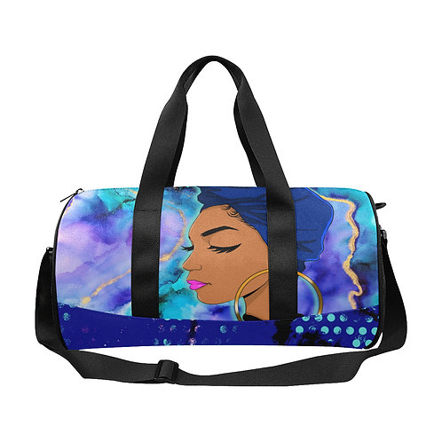 Wrapped In Truth Blue Duffle