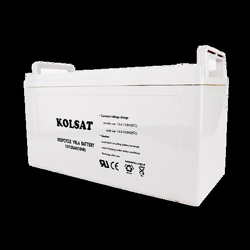 แบตเตอรี่ Kolsat GEL 12V / 120Ah