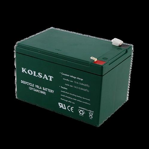 แบตเตอรี่ Kolsat VRLA12V / 12Ah