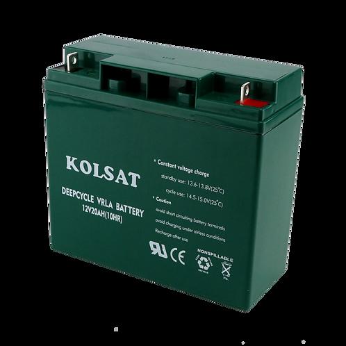 แบตเตอรี่ Kolsat VRLA 12V / 20Ah