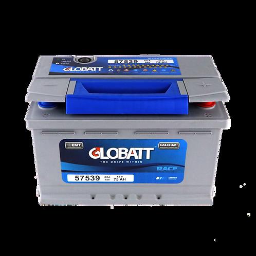 แบตเตอรี่ Lead acid Globatt Race DIN75