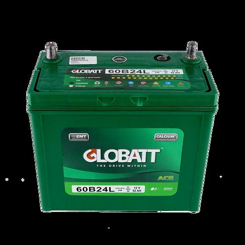 แบตเตอรี่ Lead acid Globatt ACE 60B24L