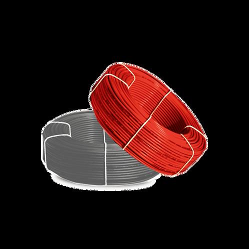 สาย PV ขนาด 4 SQ.mm สีแดง / 100เมตร
