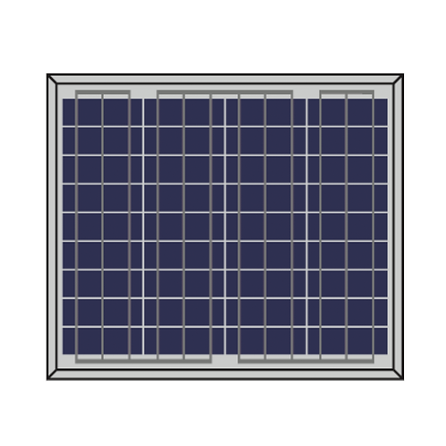 Solarshop Polycrystaline 10W