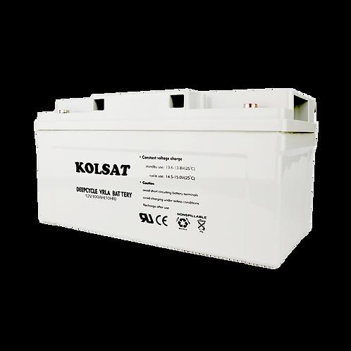 แบตเตอรี่ Kolsat GEL 12V / 100Ah