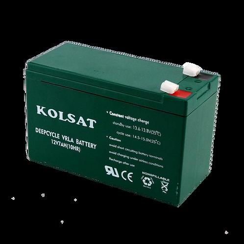 แบตเตอรี่ Kolsat GEL 12V / 7Ah
