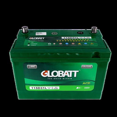 แบตเตอรี่ Lead acid Globatt ACE 115D31L