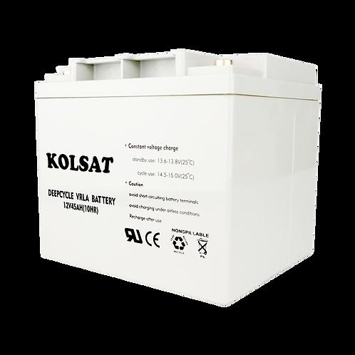 แบตเตอรี่ Kolsat GEL12V / 45Ah