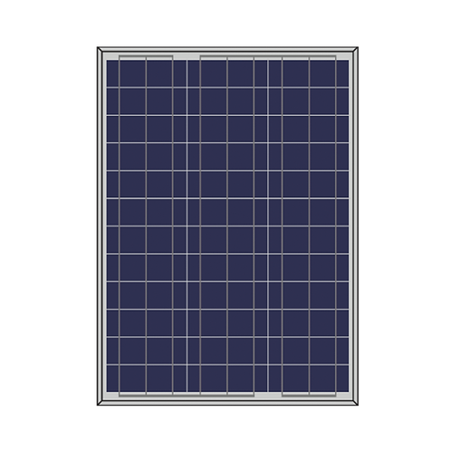 Solarshop Polycrystaline 50W