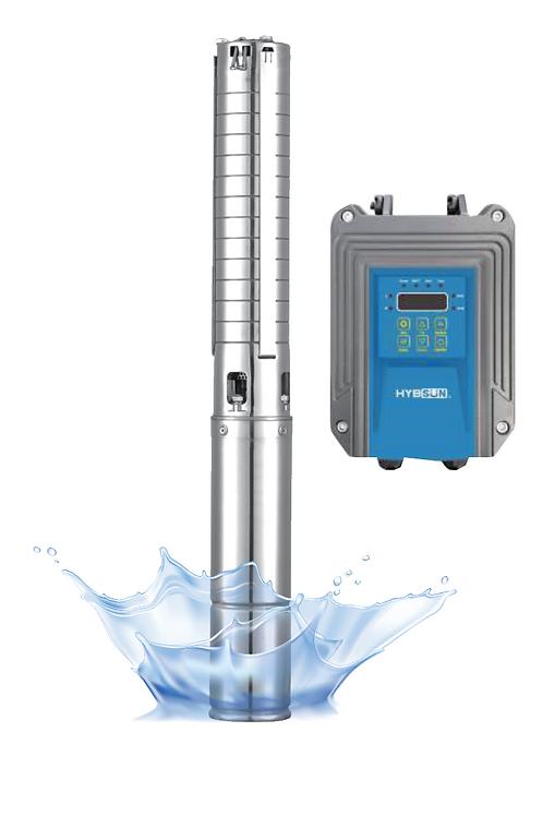 ปั๊มน้ำ DC + คอนโทลเลอร์750w 4SC750-54/5C