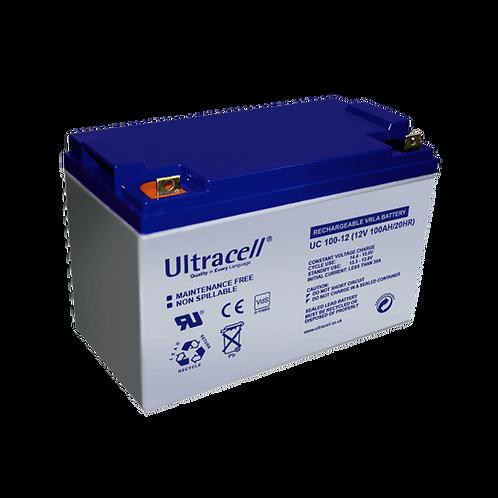 แบตเตอรี่ Ultracell N100  (100Ah)
