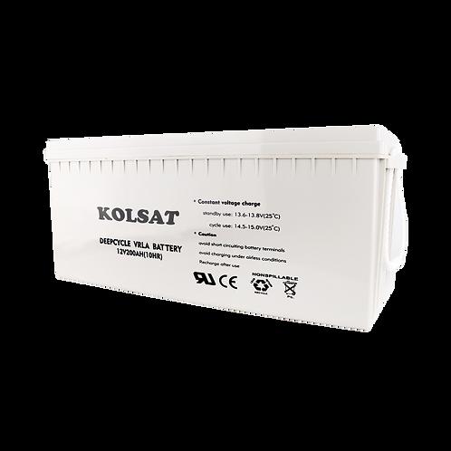 แบตเตอรี่ Kolsat GEL12V / 200Ah