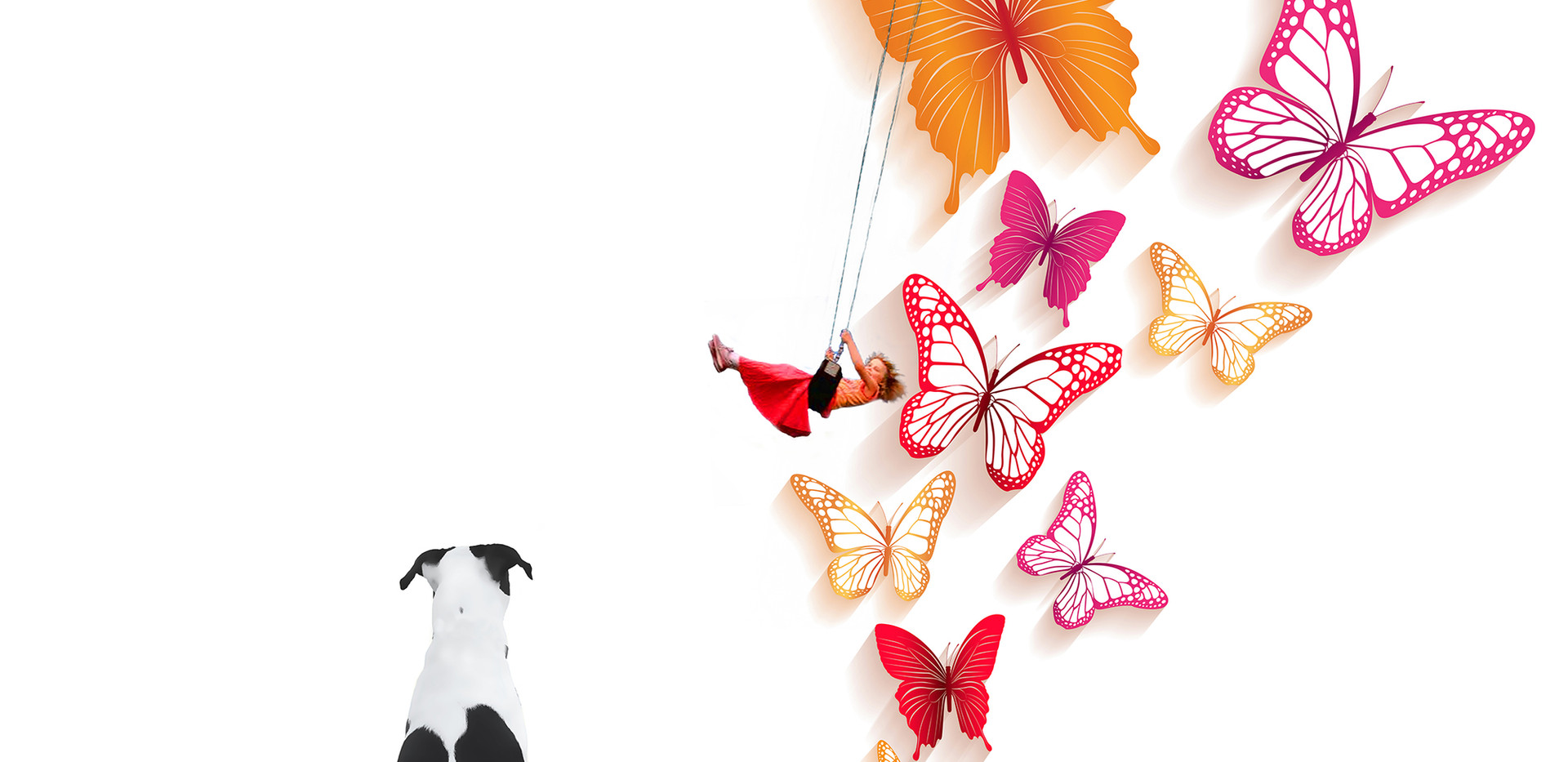 Swinging With  Butterflies