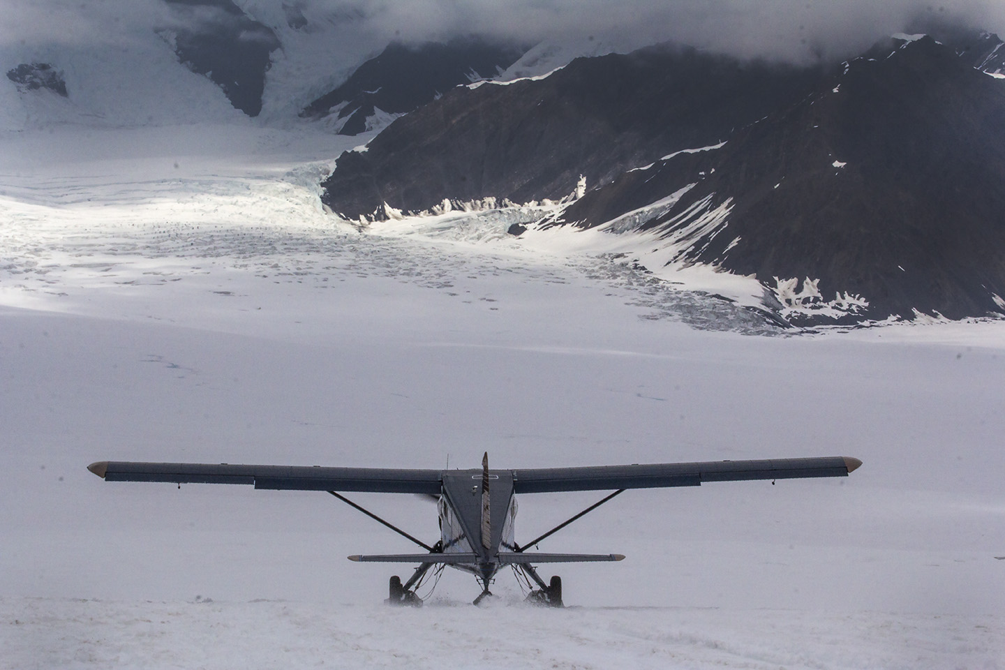 Sheldon Air, Ruth Glacier