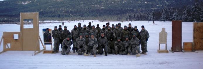 BSTA Training course Ft Richardson Alaska