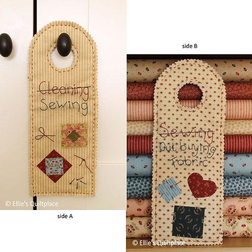 Door Hanger (pattern + kit)