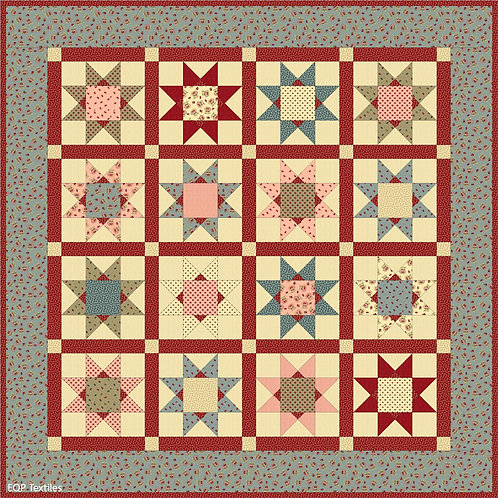 Remembering Tomorrow Quilt (fabric kit + backing)