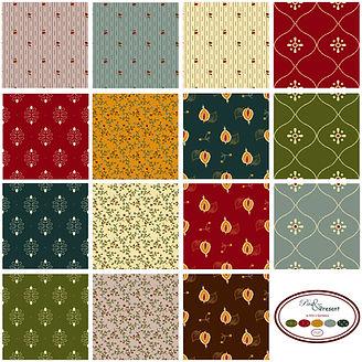 Quilt fabrics collection Past & Present by Ellie's Quiltplace | EQP Textiles