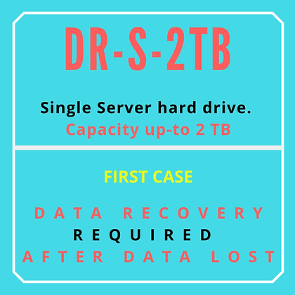 Single Server Hard drive