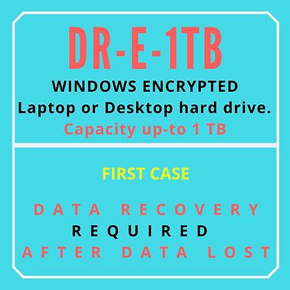 Encrypted Laptop or Desktop Hard drive