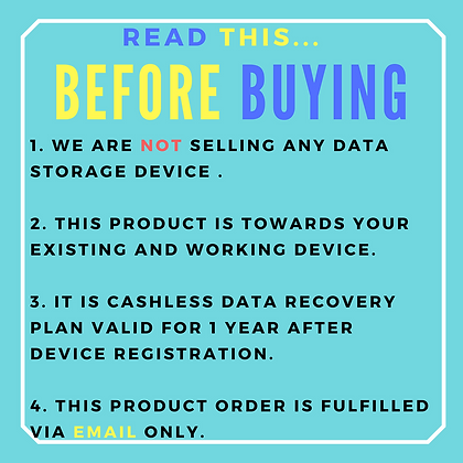 Logical Data Recovery for Laptop or Desktop Hard drive