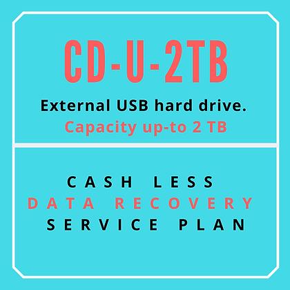 External USB hard drive