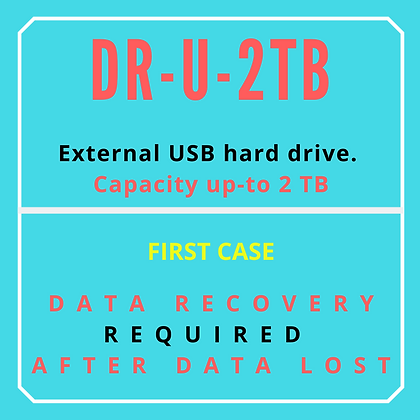 External USB Hard drive