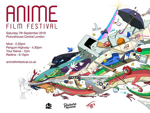 Anime Film Festival 2019 Poster A3 Size