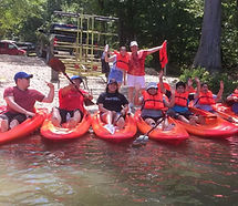 Mountain Fork River Presbyterian Falls Skippa-Rock Coming Attractions