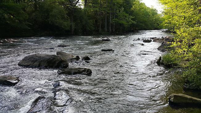 Mountain Fork River Presbyterian Falls