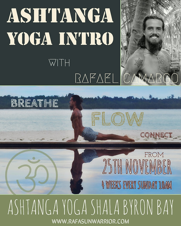 Ashtanga Yoga Intro - Byron Bay