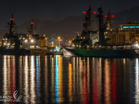 Nightgraphy in Sasebo